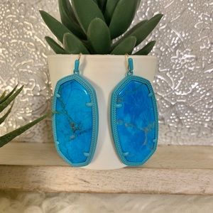Kendra Scott Danielle Earrings Aqua